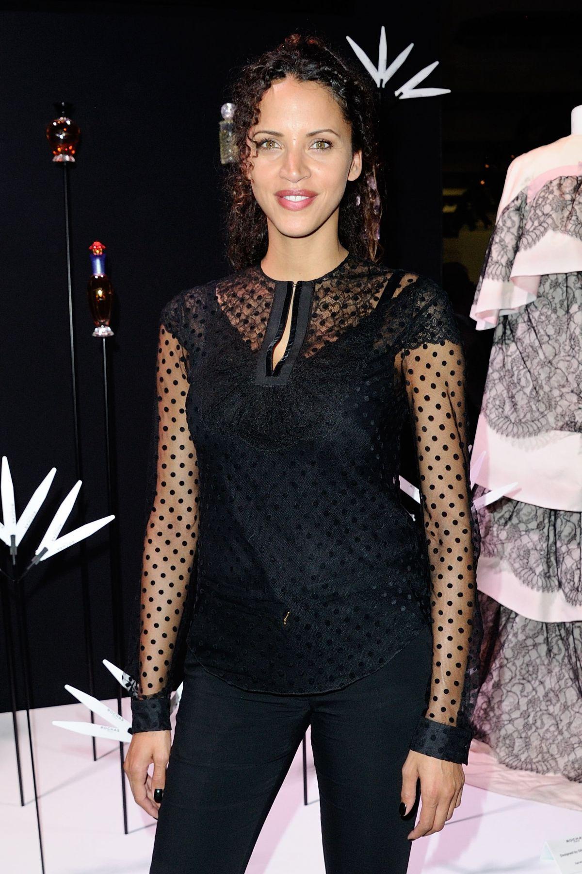 NOEMIE LENOIR at Rochas 90th Anniversary Cocktail in Paris 09/30/2015