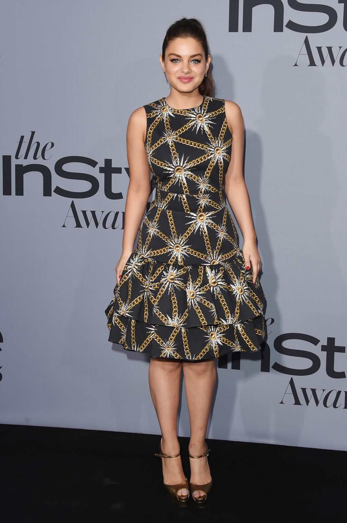 ODEYA RUSH at InStyle Awards 2015 in Los Angeles 10/26/2015