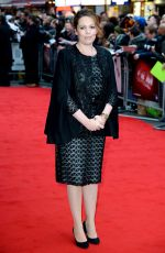OLIVIA COLEMAN at The Lobster Premiere at 2015 BFI London Film Festival 10/13/2015