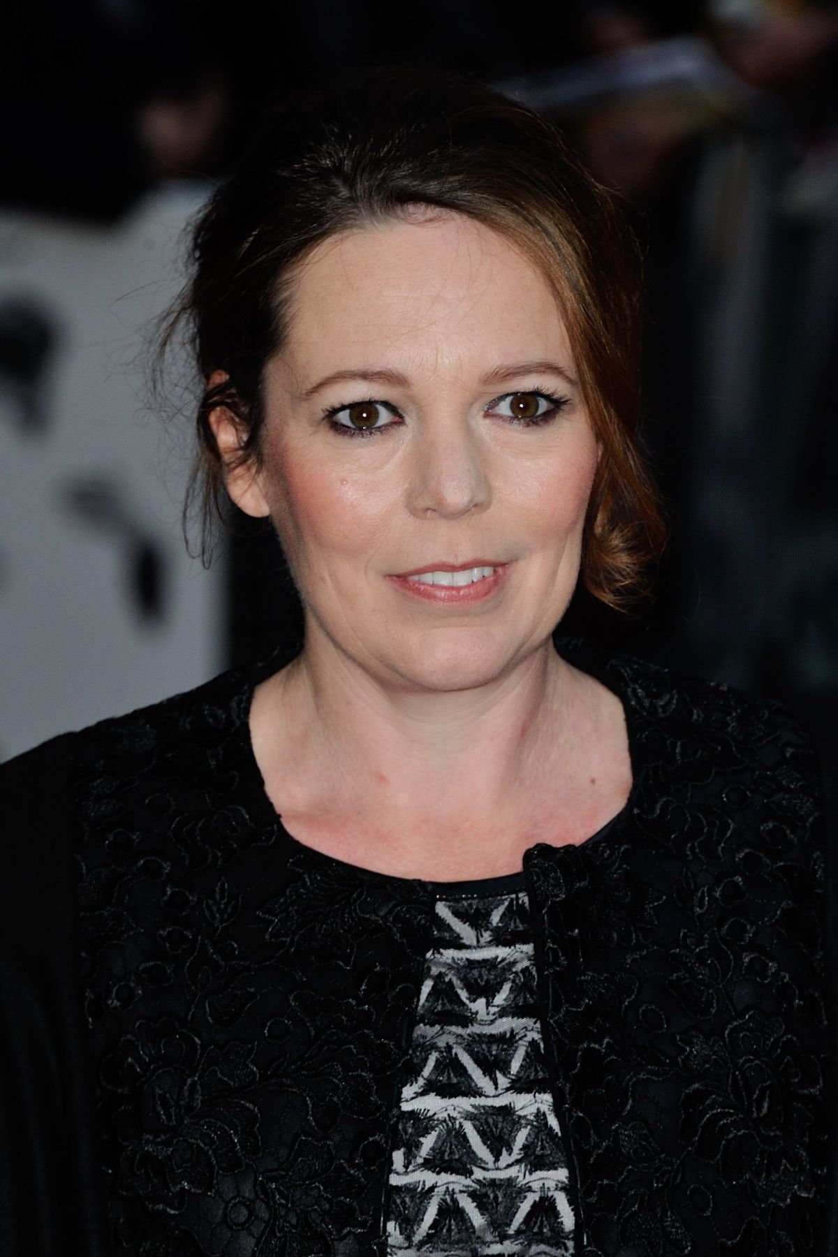 OLIVIA COLEMAN at The Lobster Premiere at 2015 BFI London Film Festival 10/13/2015 - HawtCelebs