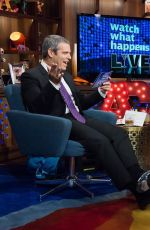 OLIVIA WILDE at Watch What Happens Live in New York 2015