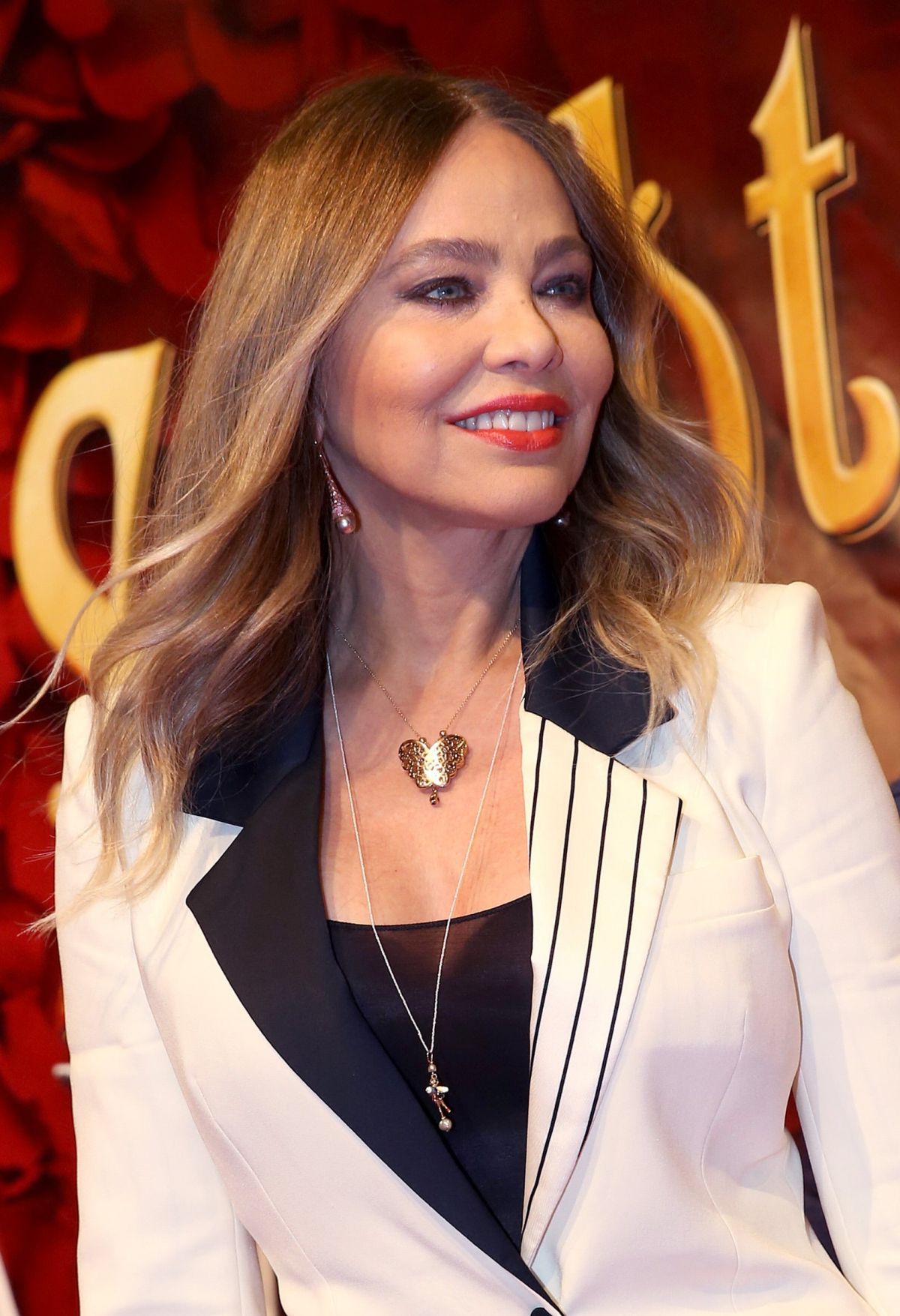 ORNELLA MUTI at Love Never Dies Musical Premiere in Hamburg 10/15/2015