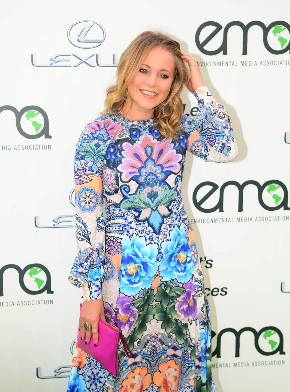 POPPY JAMIE at 2015 EMA Awards in Burbank 10/24/2015
