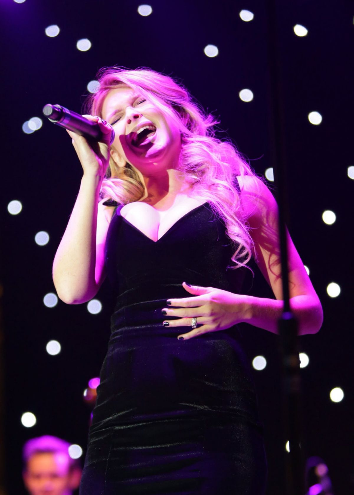 RENEE OLSTEAD Performs at Sinatra 100 Concert at The Grove in Los Angeles 10/09/2015