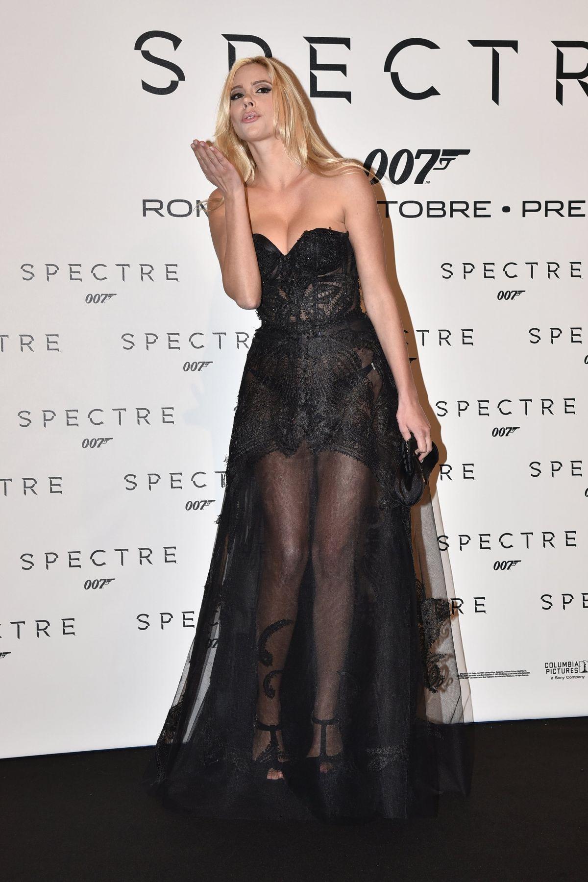 RIA ANTONIOU at Spectre Premiere in Rome 10/27/2015