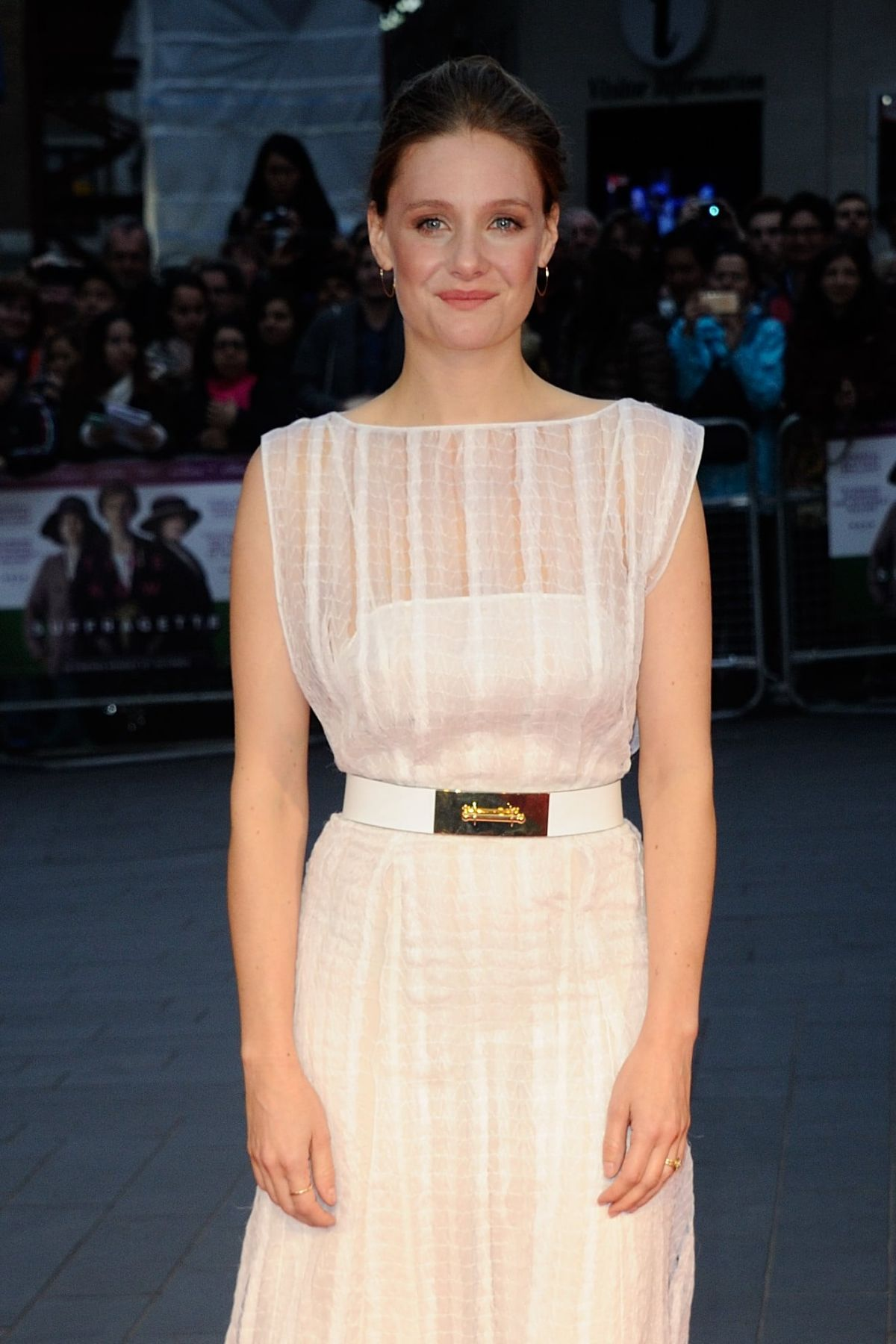 ROMOLA GARAI at Suffragette Premiere at 2015 BFI London Film Festival 10/07/2015