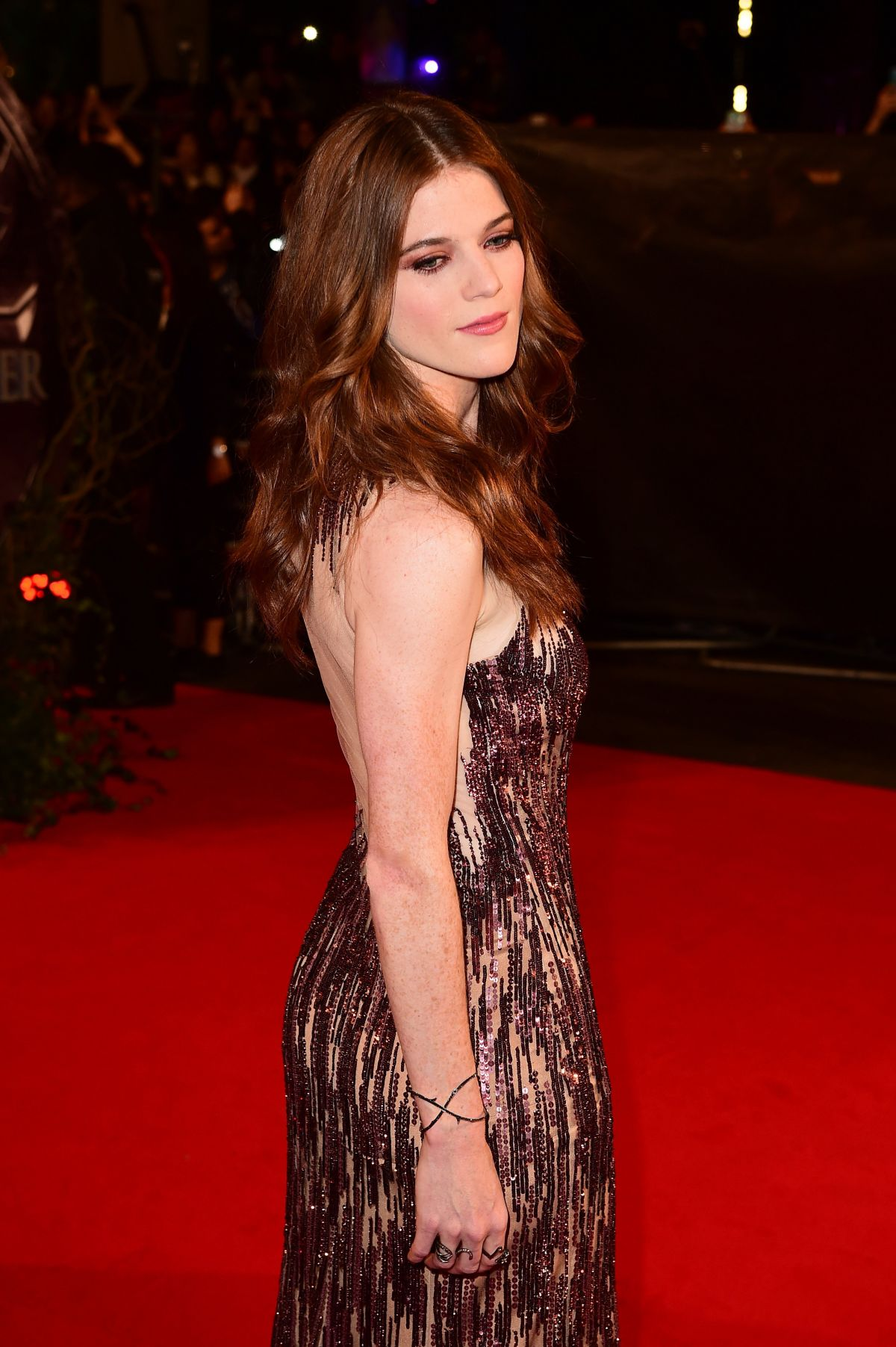 ROSE LESLIE at The Last Witch Hunter Premiere in London 10/19/2015