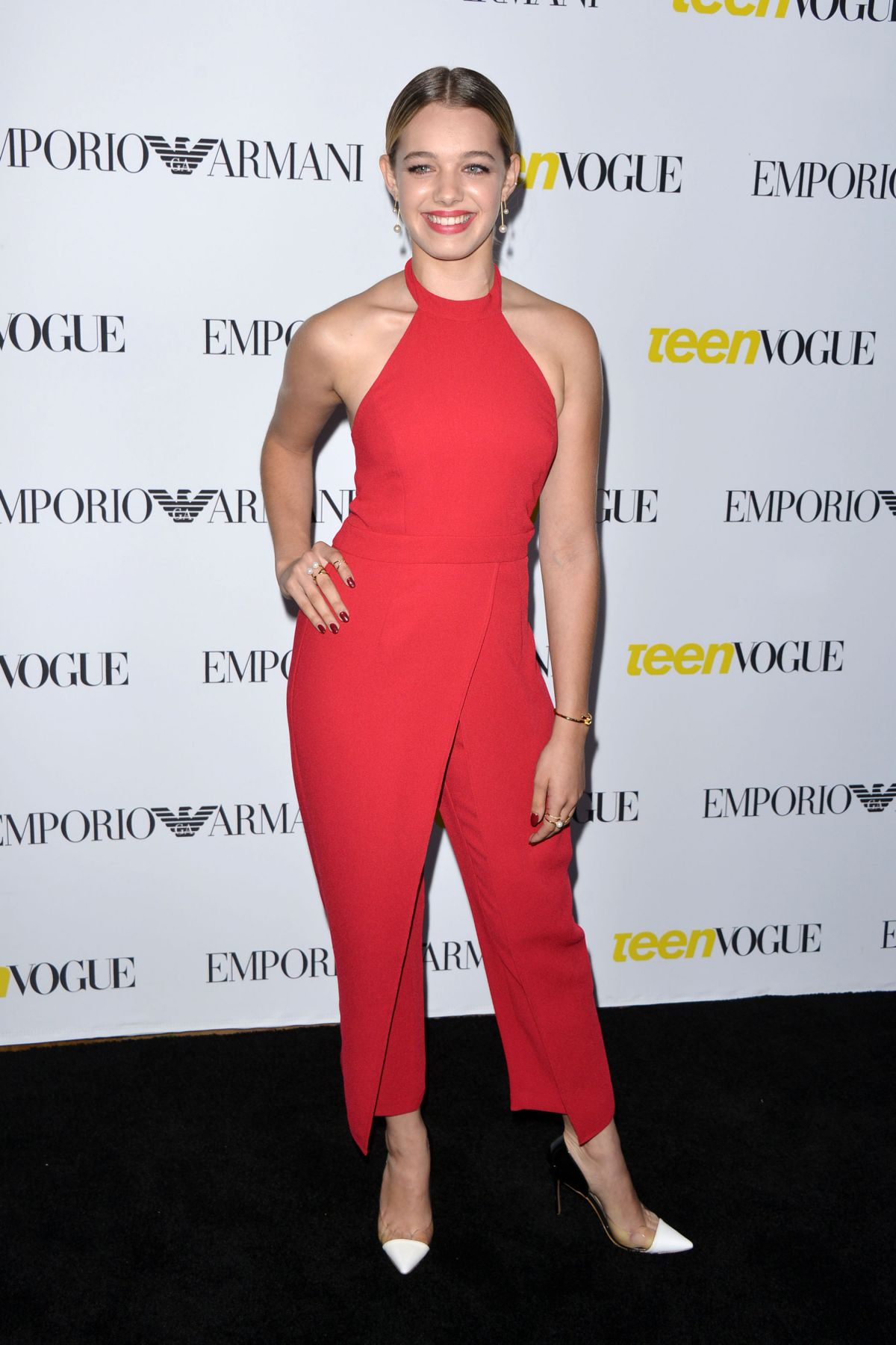 SADIE CALVANO at Teen Vogue's 13th Annual Young Hollywood Issue Launch Party in Los Angeles 10/02/2015