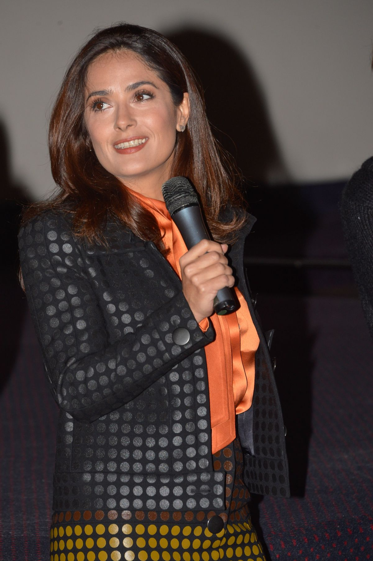 SALMA HAYEK at Raging Bull Screening at 7th Festival Lumiere in Lyon ... Salma Hayek