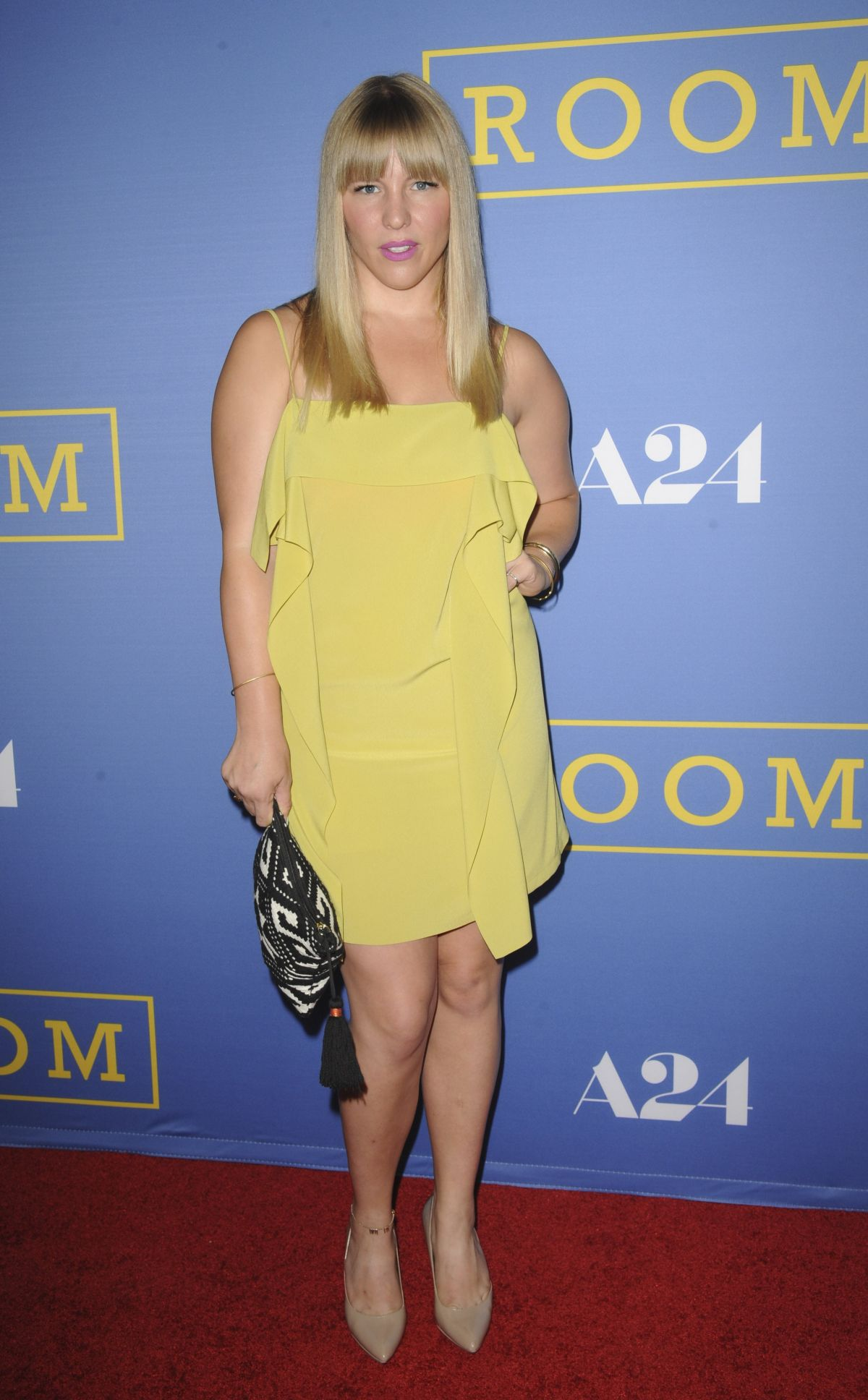 SARA COATES at Room Premiere in West Hollywood 10/13/2015