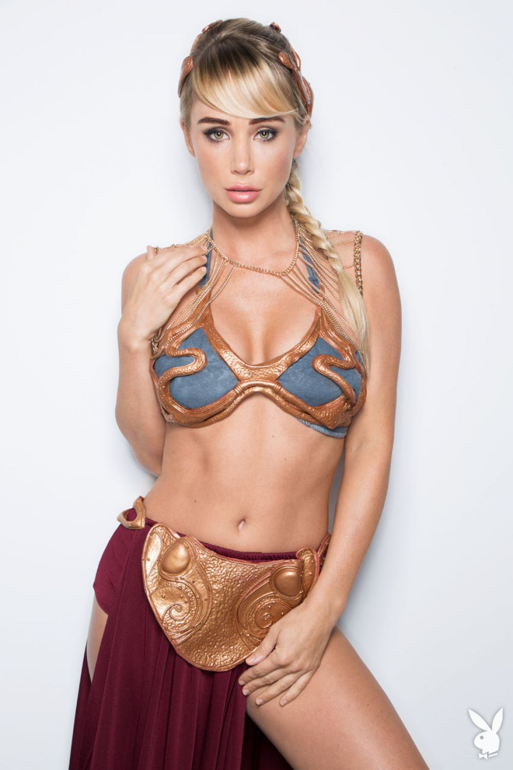 SARA JEAN UNDERWOOD - Star Wars Play Boy Photoshoot