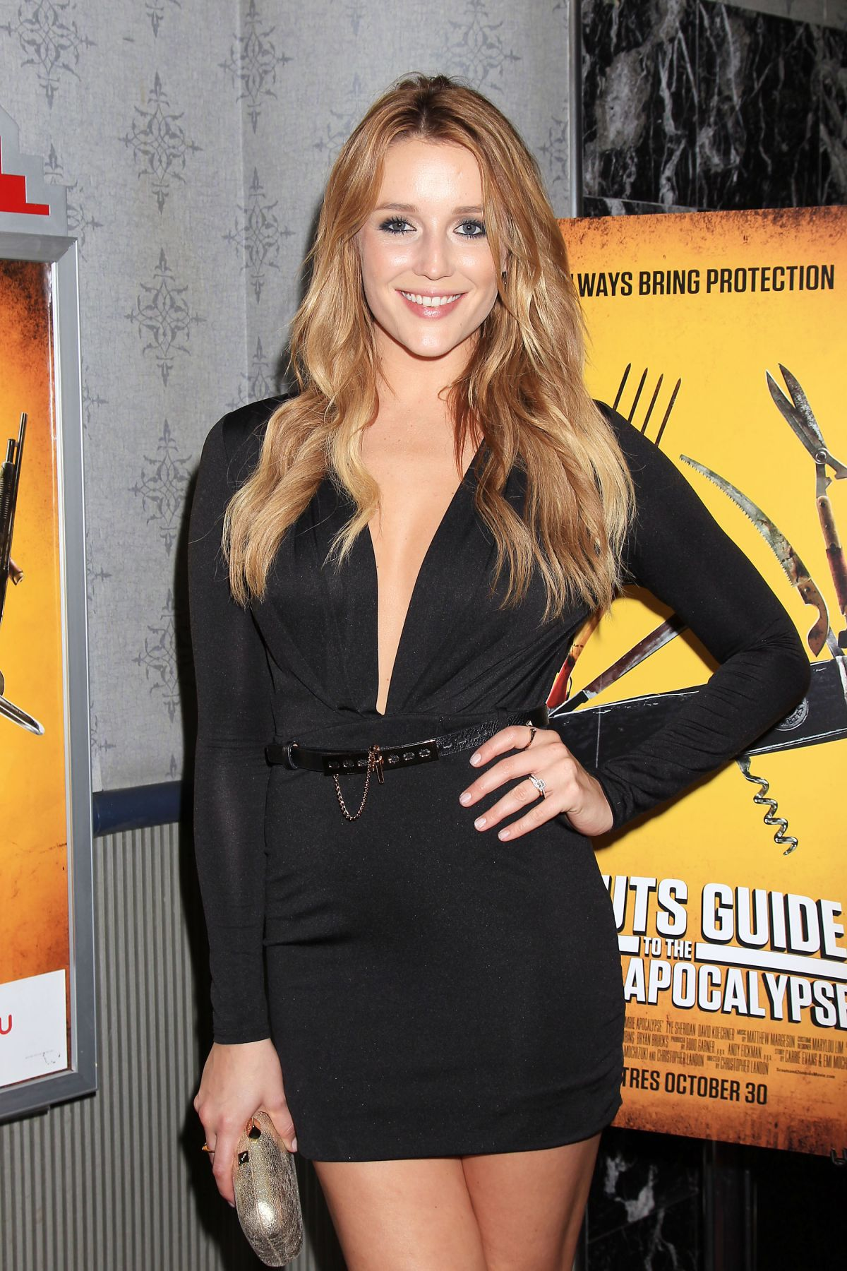 SARAH DUMONT at Scouts Guide To the Zombie Apocalypse Screening in New York 10/28/2015