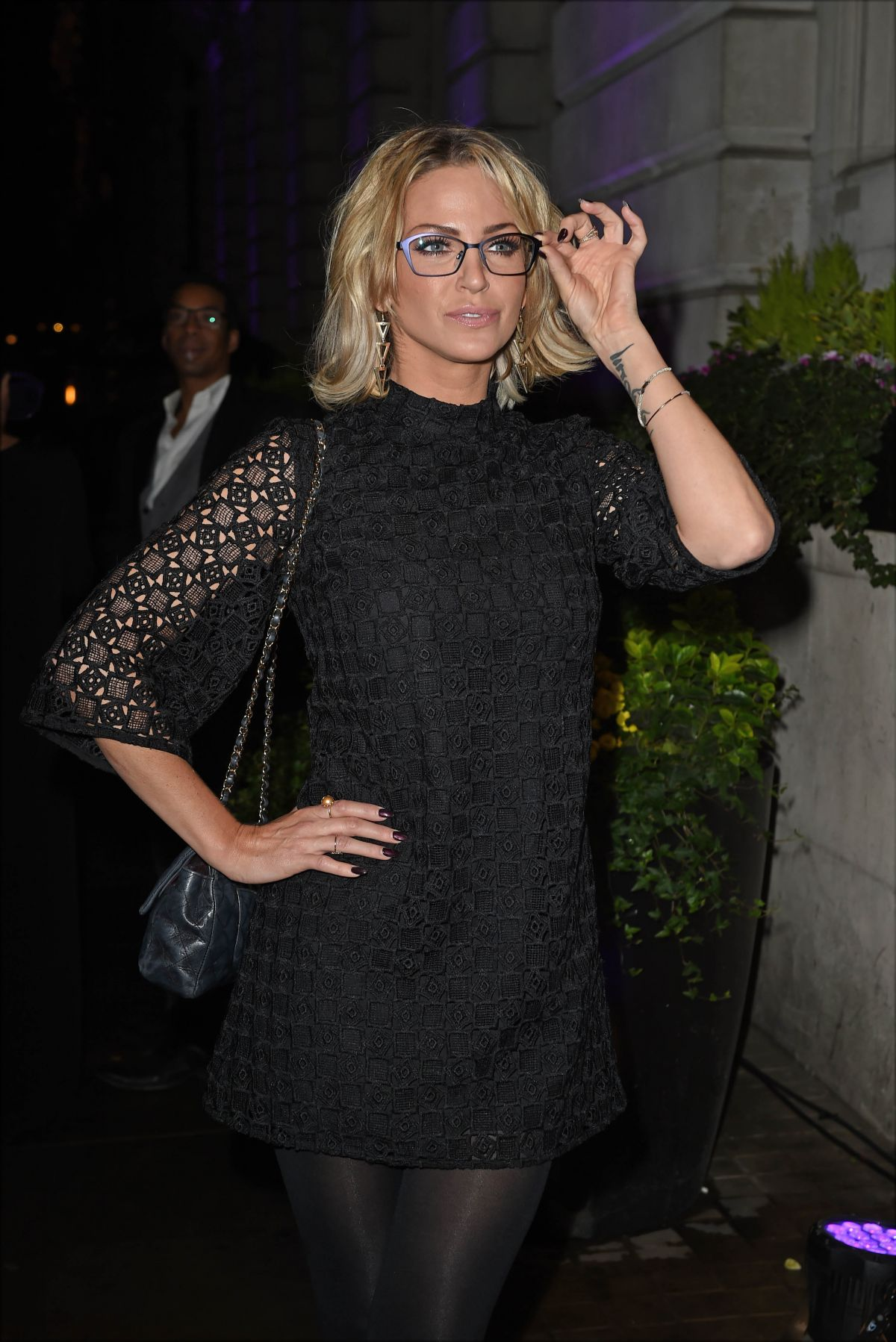 Sarah harding at specsavers s spectacle wearer of the year in london