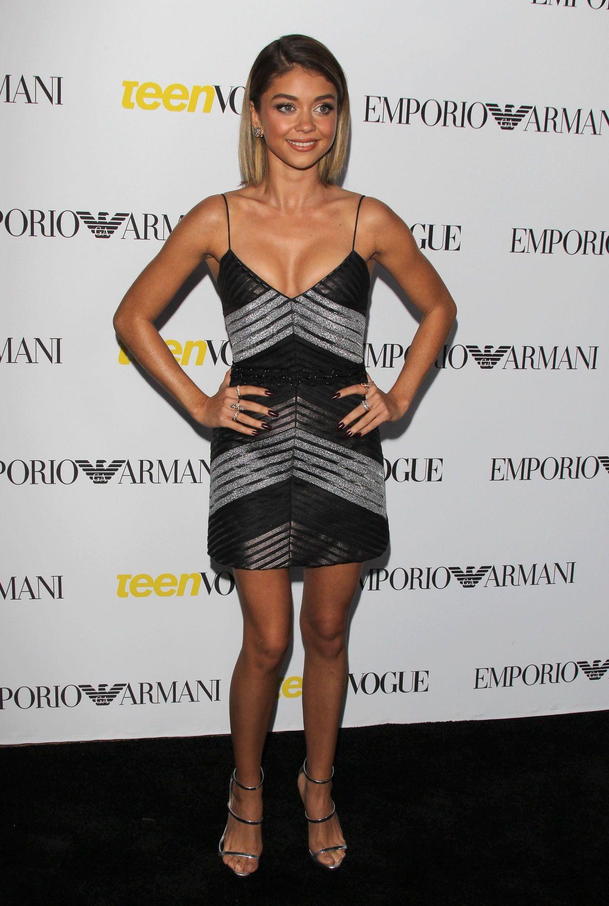 Actress Sarah Hyland arrives at Teen Vogues 13th Annual