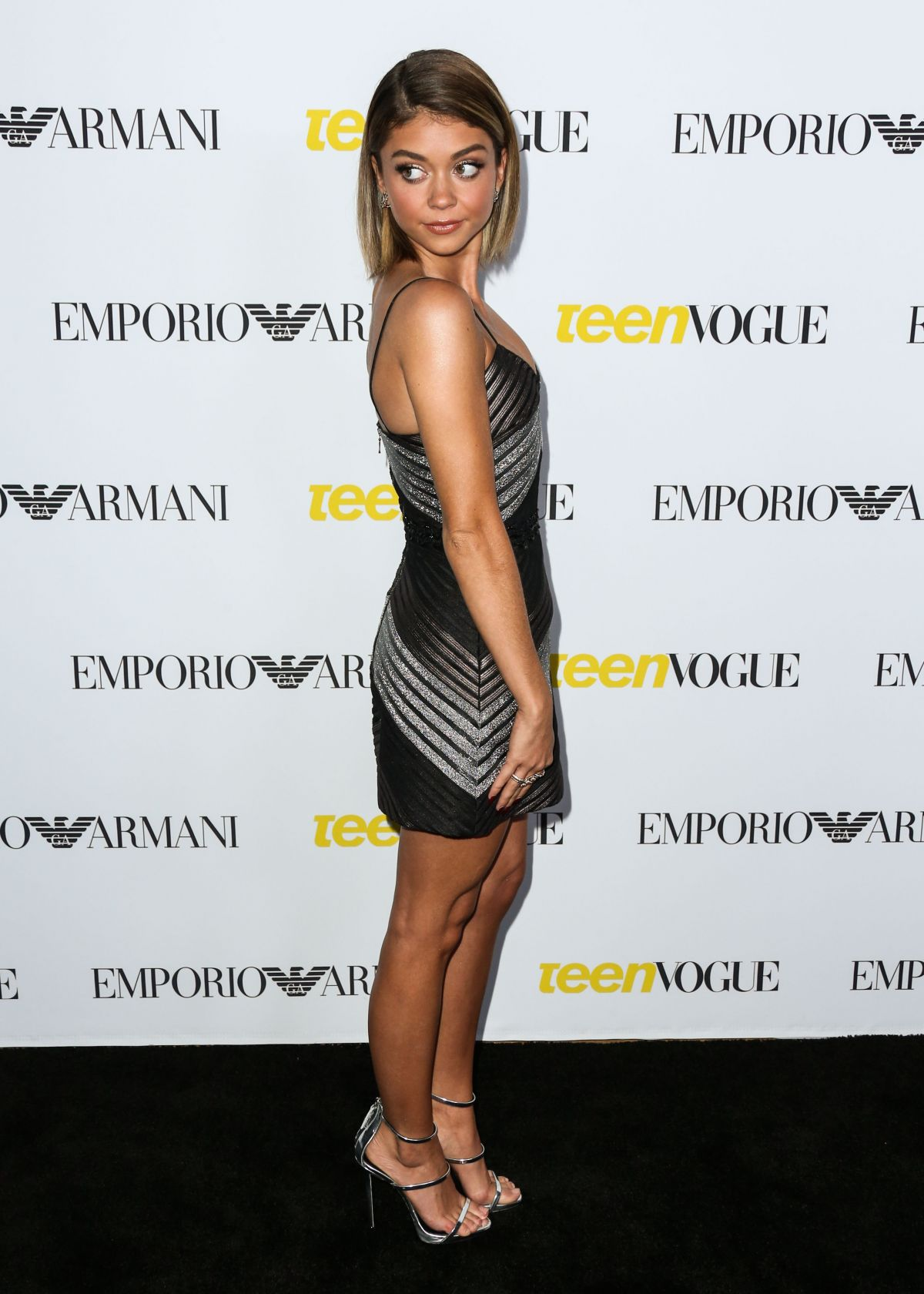 SARAH HYLAND at Teen Vogues 13th Annual Young Hollywood