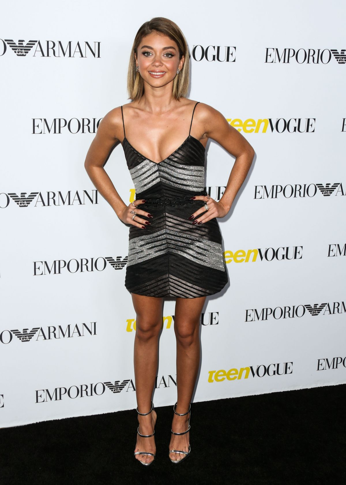 Sarah Hyland Ignores the Chest or Legs Rule in Vatanika