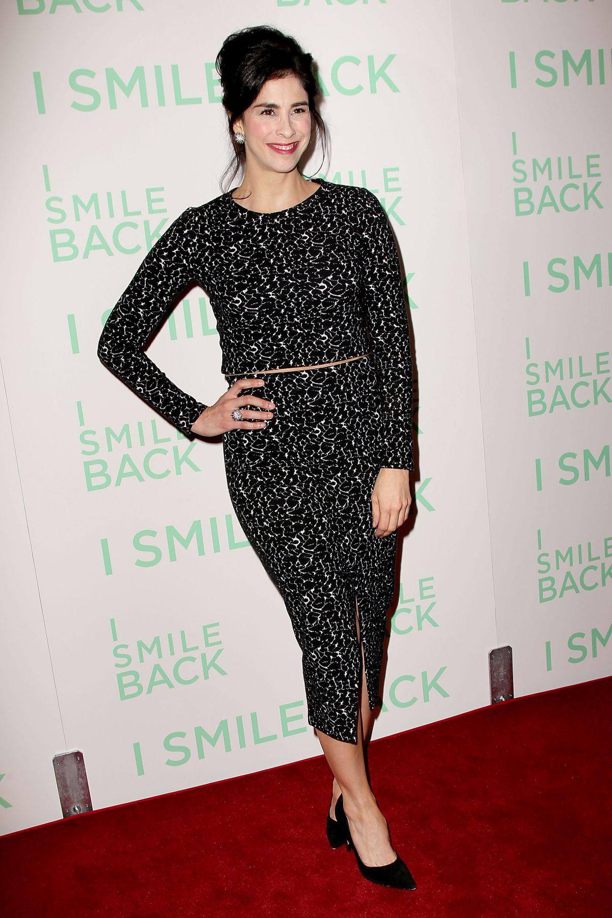 Sarah Silverman At I Smile Back Screening In New York 10