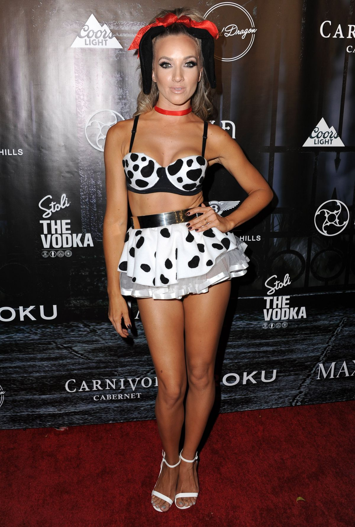 SHANNON BEX at Maxim Magazine's Official Halloween Party in Beverly Hills 10/24/2015