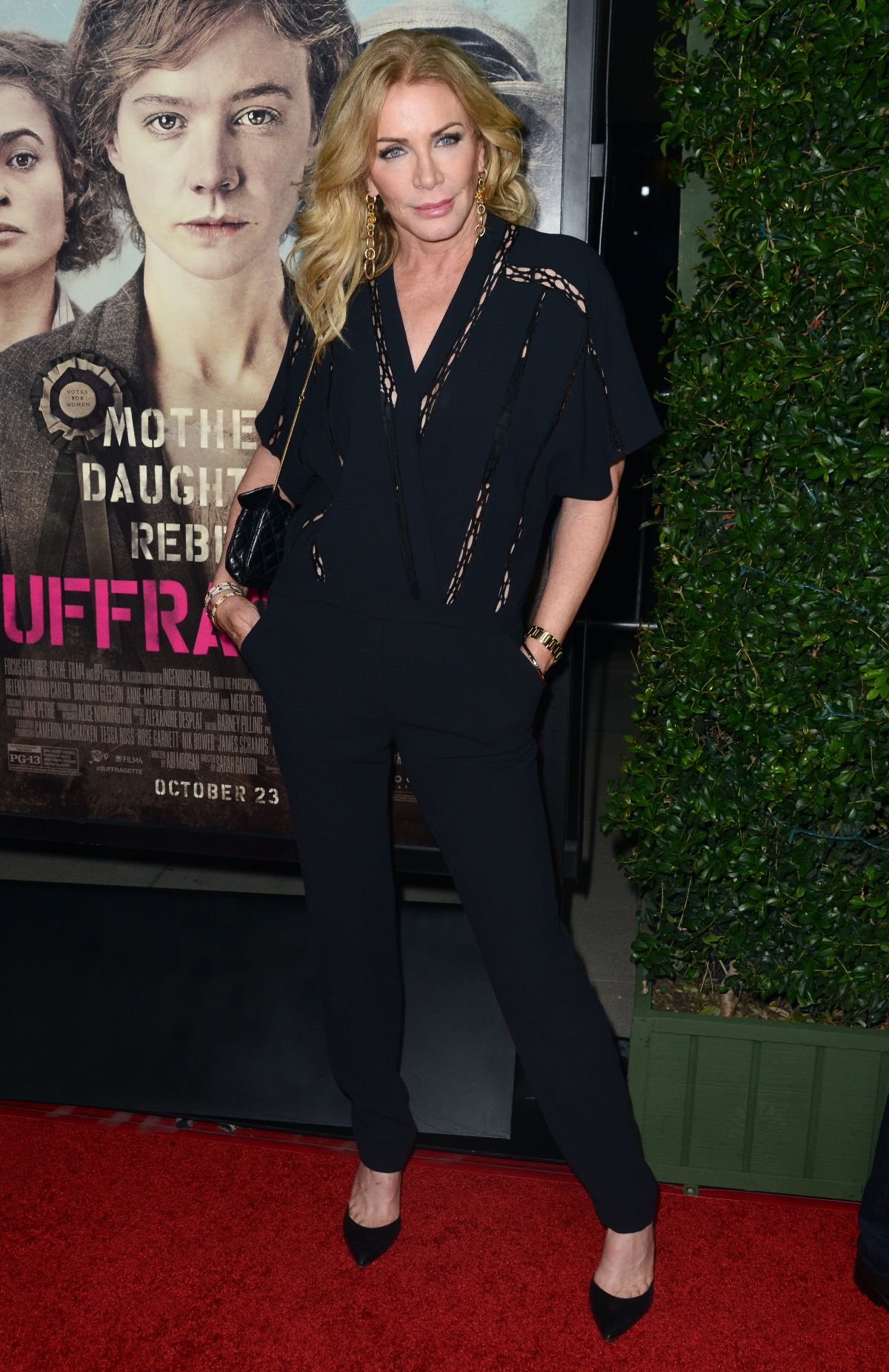 SHANNON TWEED at Suffragette Premiere in Beverly Hills 10/20/2015