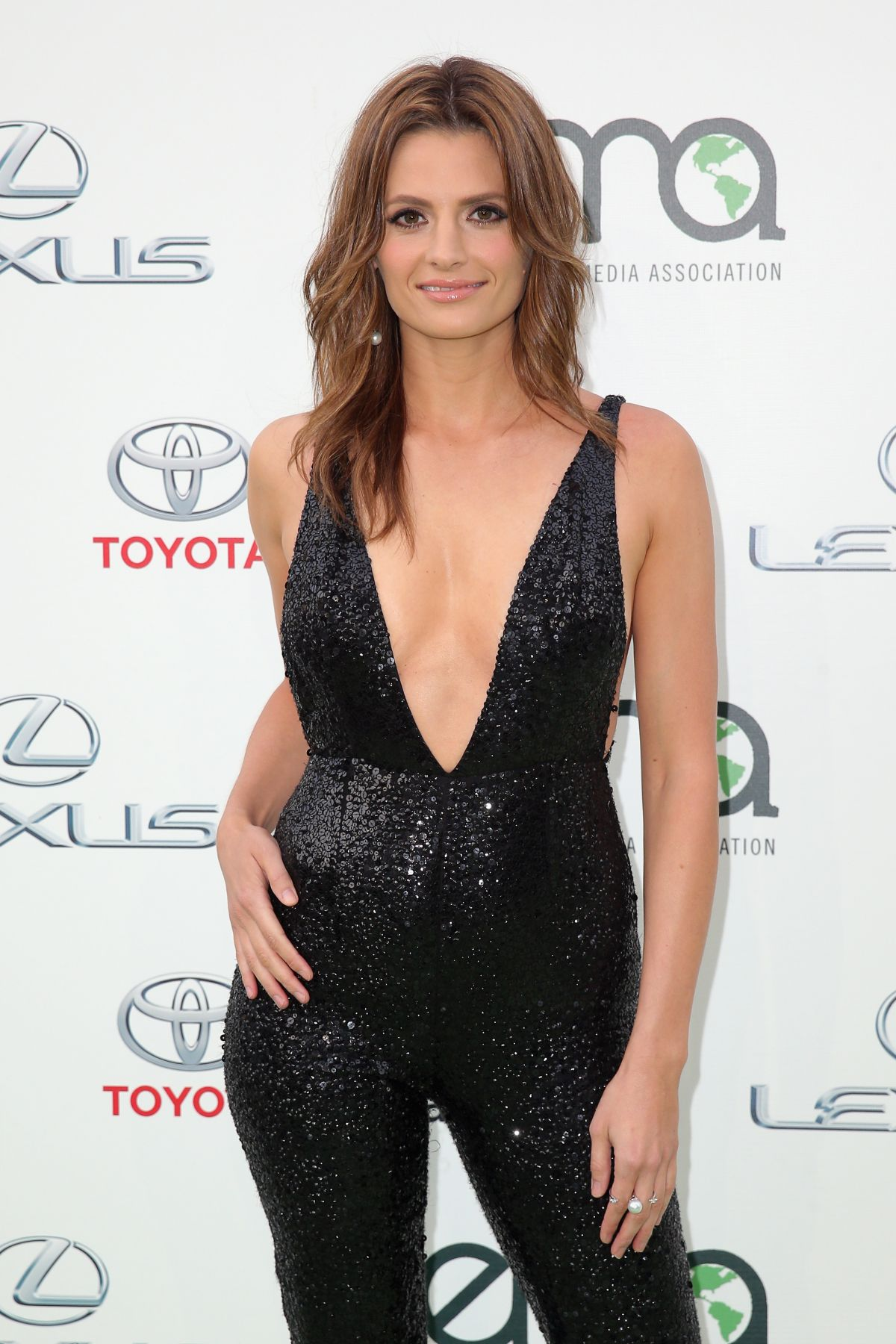 STANA KATIC at 2015 EMA Awards in Burbank 10/24/2015