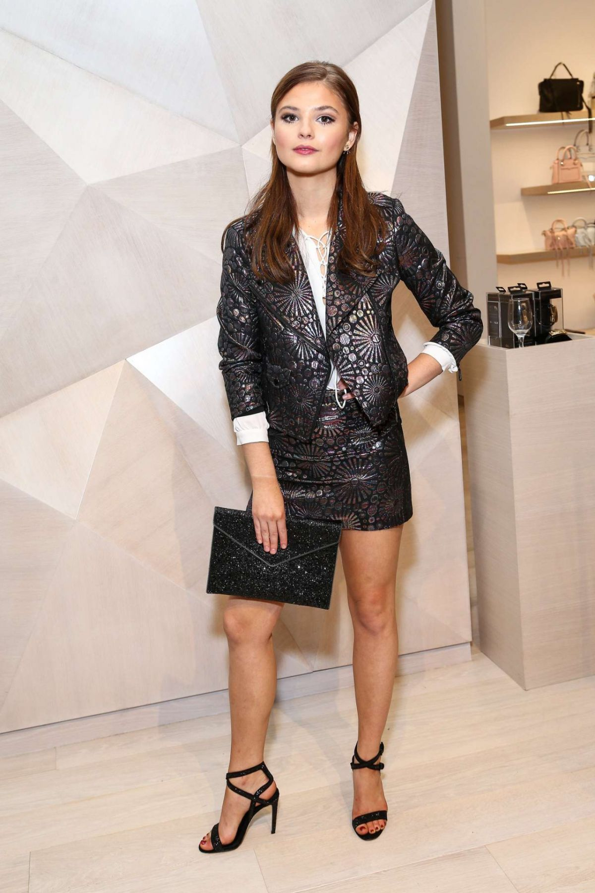 STEFANIE SCOTT at Rebecca Minkoff Flagship Store Opening in Los Angeles 10/27/2015