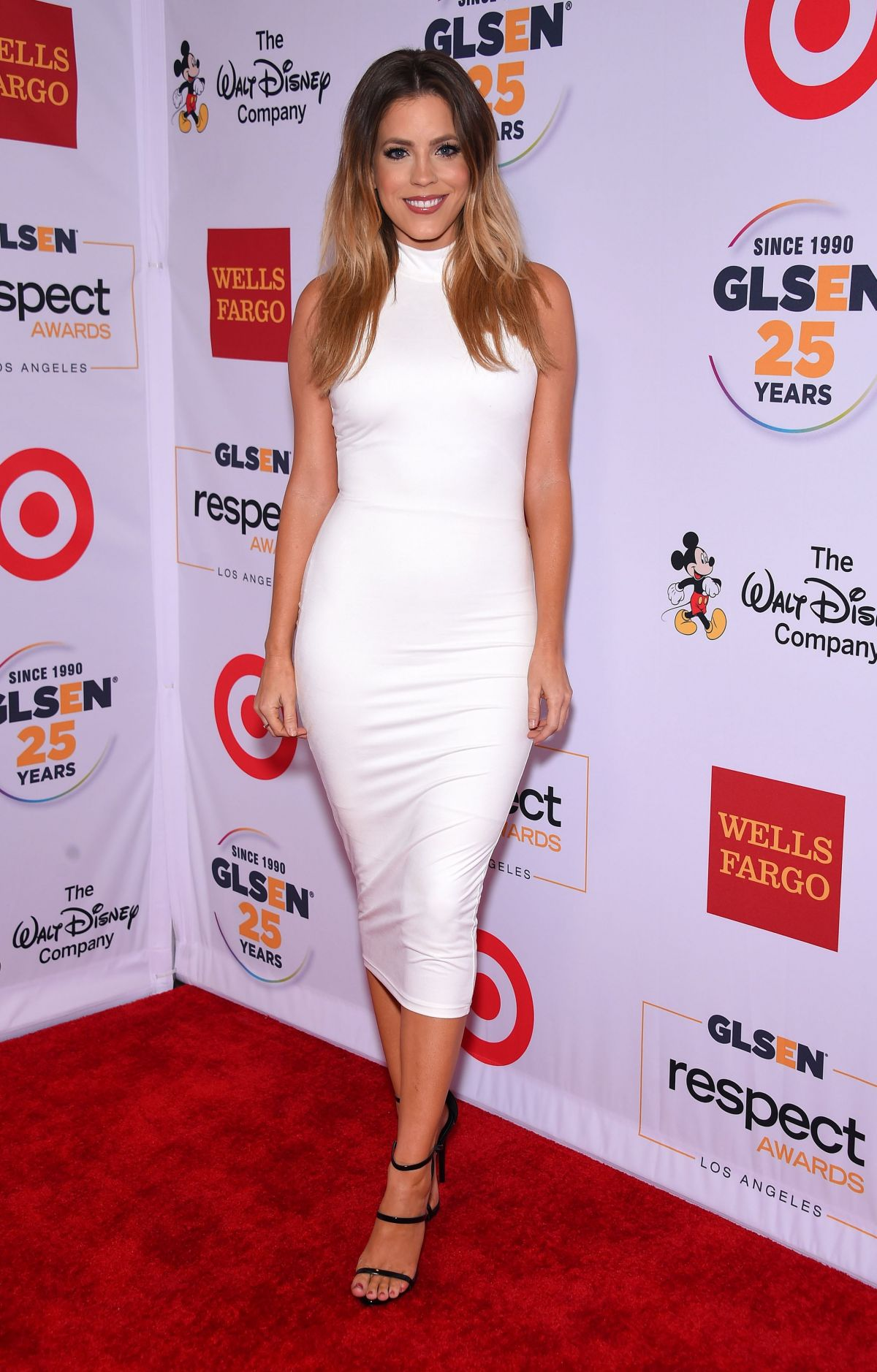 STEPHANIE BAUER at 2015 glsen Respect Awards in Beverly Hills 10/23/2015