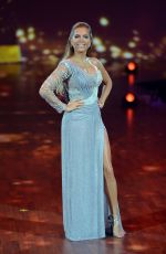 SYLVIE MEIS at Stepping Out Finale Show in Cologne 10/16/2015
