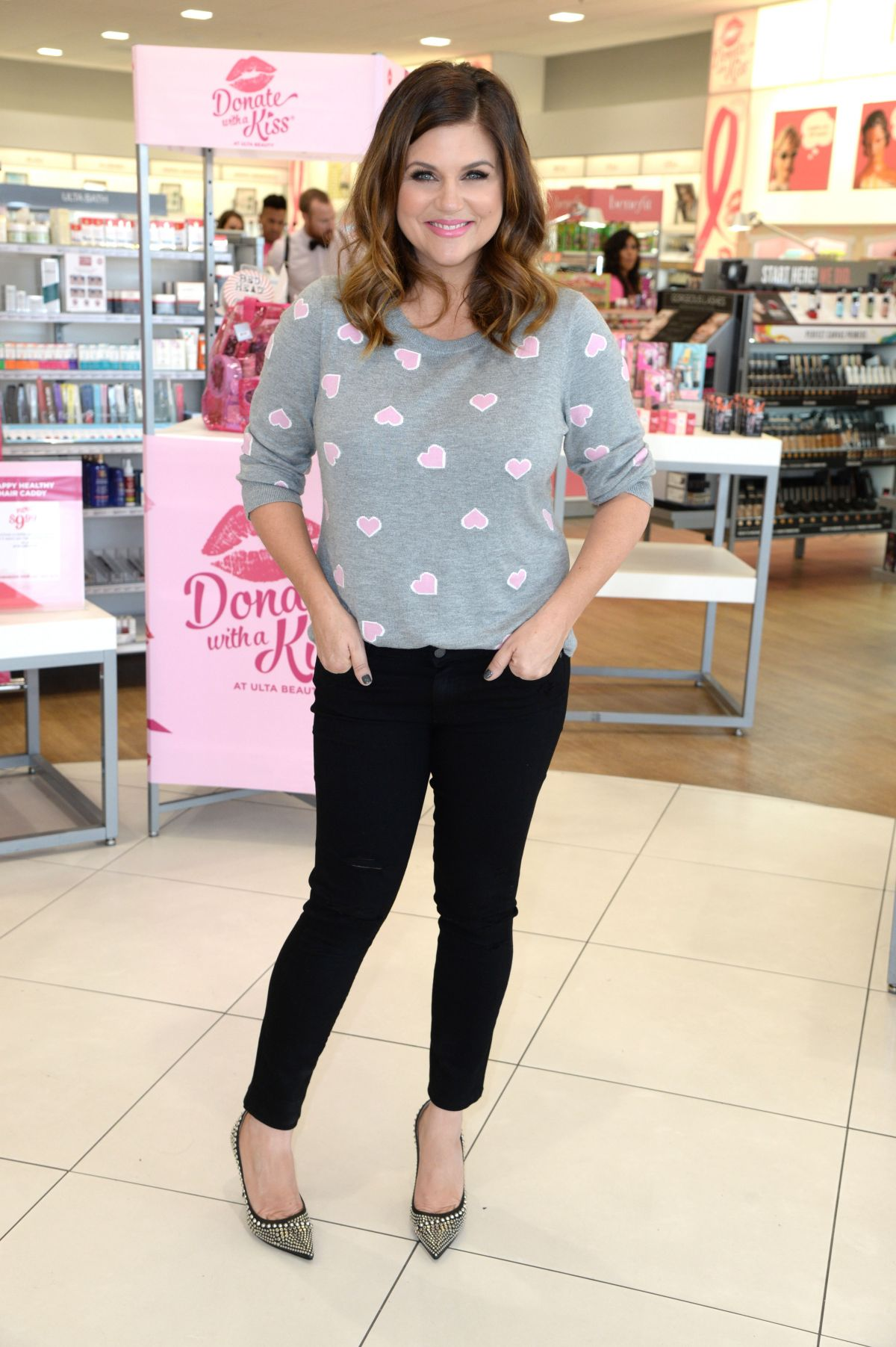 Tiffani Thiessen At Day Of Pampering Presented By Ulta