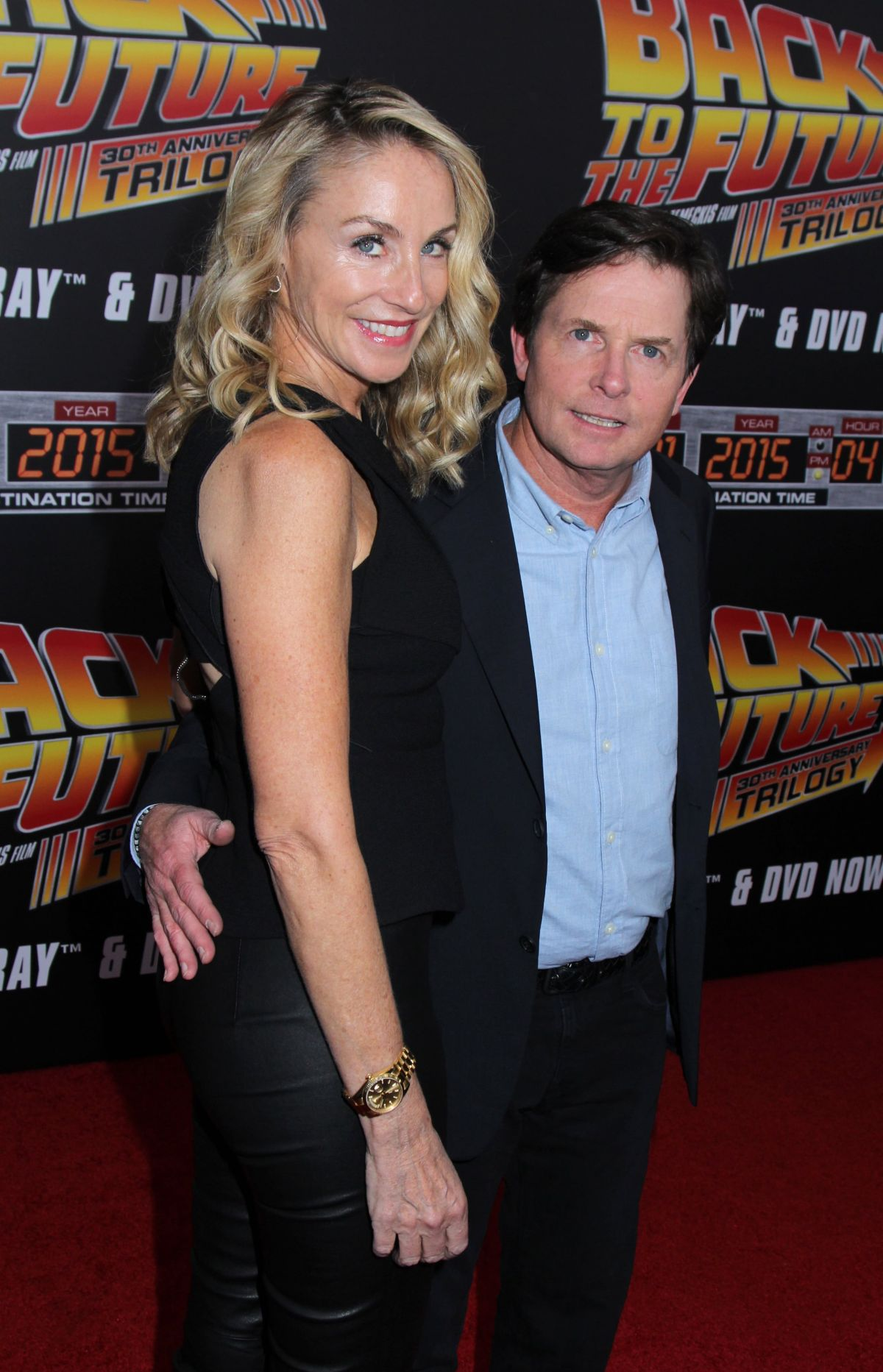 TRACY POLLAN at Back to the Future Special Anniversary Screening in New York 10/21/2015