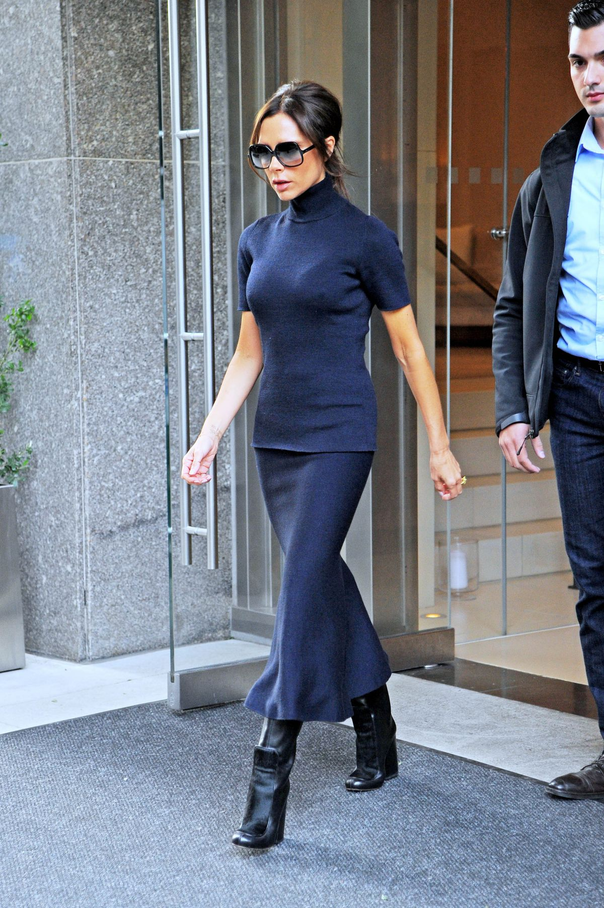 Victoria Beckham Out And About In New York 10 27 2015
