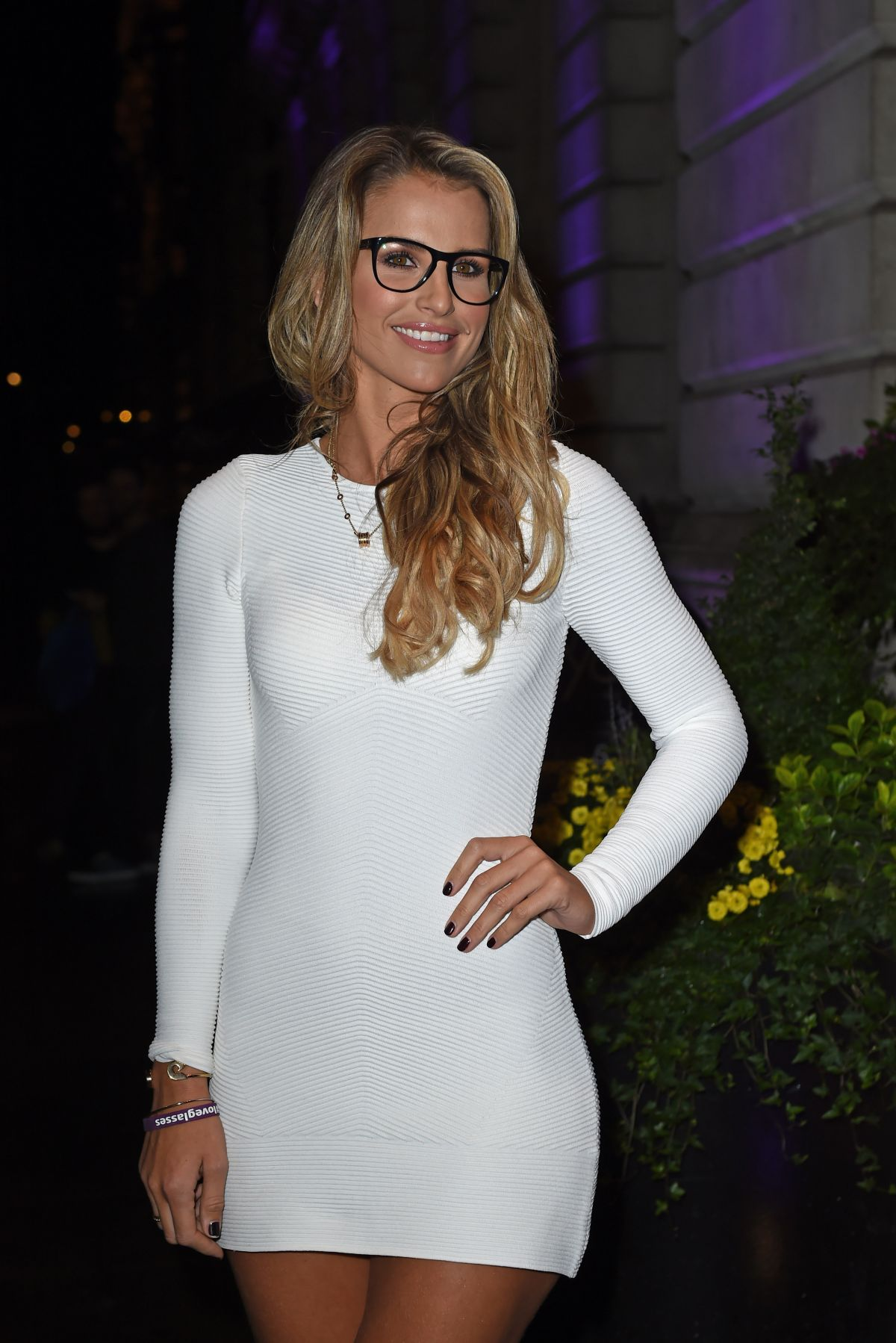 VOGUE WILLIAMS at Specsavers' Spectacle of the Year 2015 in London ...