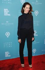 ABIGAIL SPENCER at 2015 Napa Valley Film Festival Gala in Yountville 11/12/2015