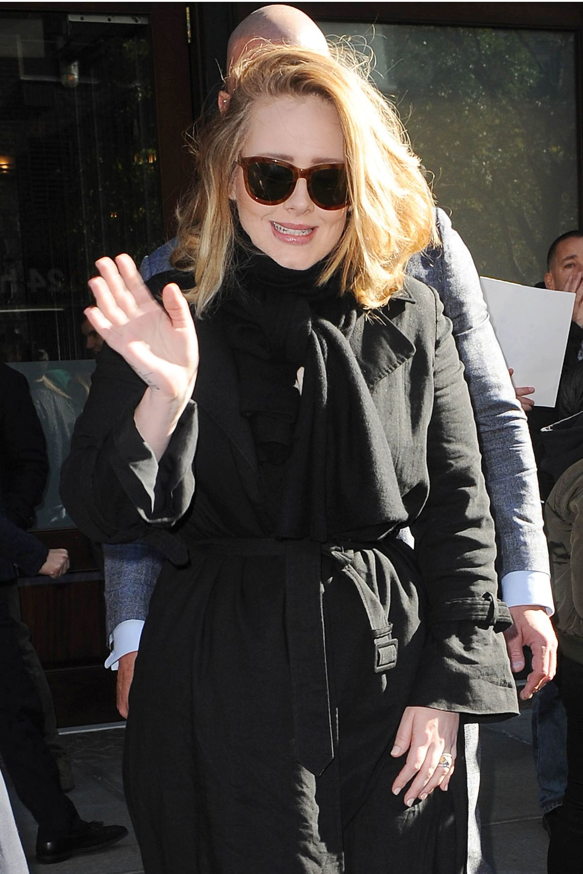 ADELE Leaves Her Hotel in New York 11/17/2015