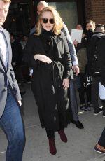 ADELE Leaves Her Hotel in New York 11/17/2015