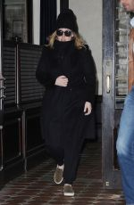 ADELE Leaves Her Hotel in New York 11/18/2015