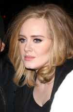 ADELE Out and About in New York 11/19/2015