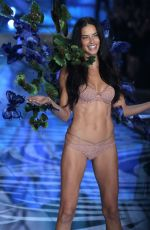 ADRIANA LIMA at Victoria's Secret 2015 Fashion Show in New York 11/10/2015