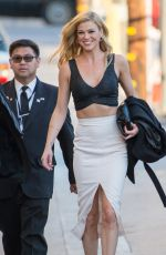 ADRIANNE PALICKI Arrives at Jimmy Kimmel Live in Los Angeles 11/11/2015