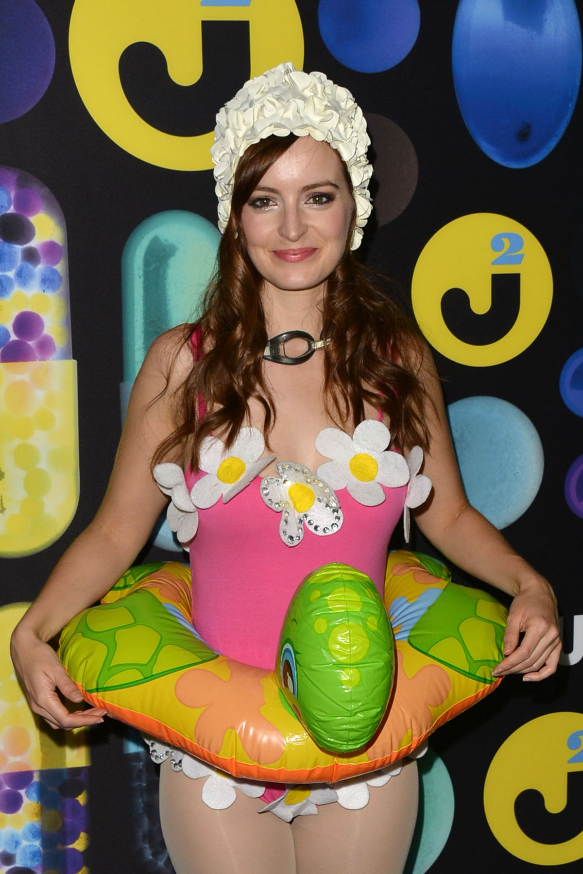AHNA O'REILLY at Just Jared Halloween Party in Hollywood 10/31/2015