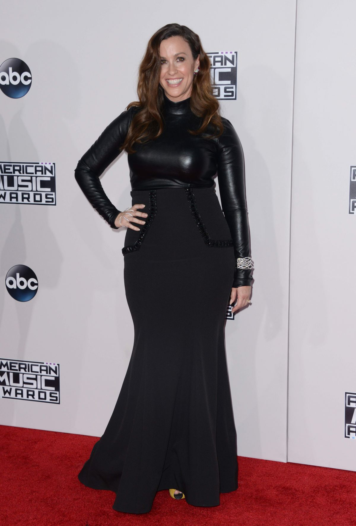 ALANIS MORISSETTE at 2015 American Music Awards in Los Angeles 11/22/2015