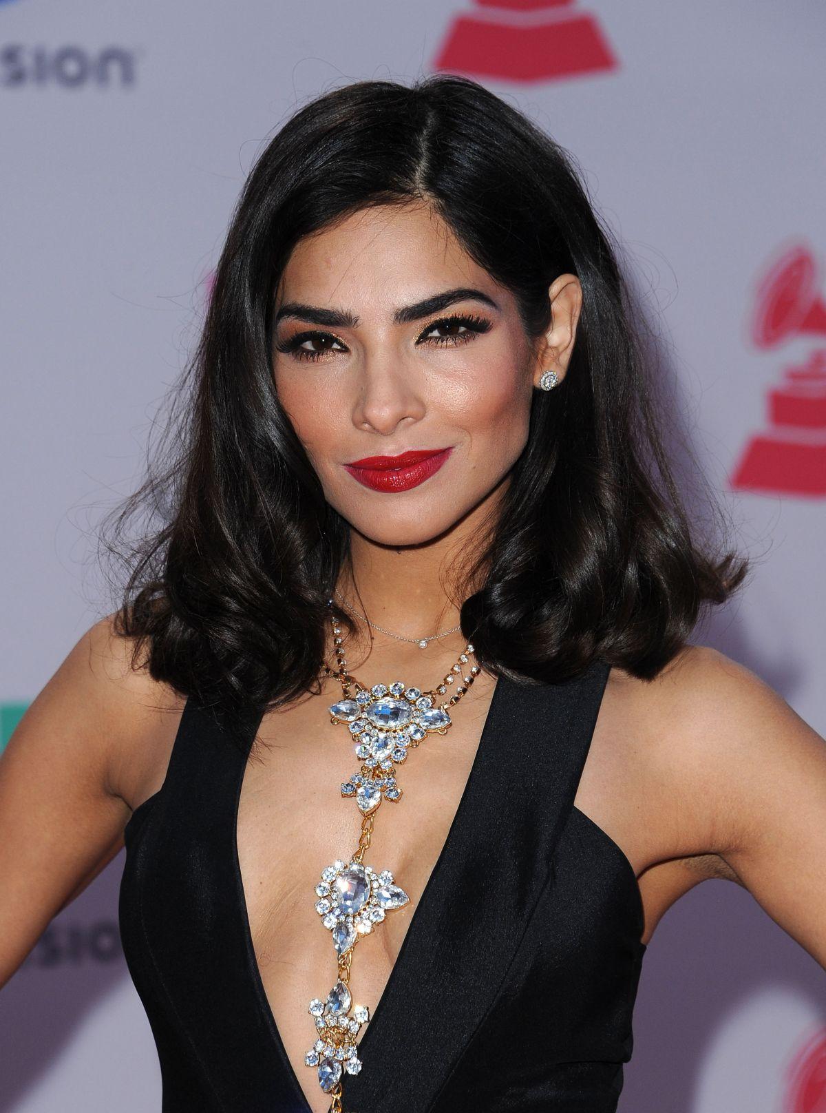 Alejandra Espinoza At 2015 Latin Grammy Awards In Las