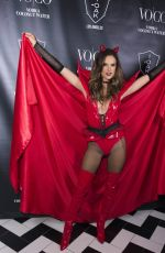 ALESSANDRA AMBROSIO at Heaven and Hell Halloween Party in Los Angeles 10/31/2015