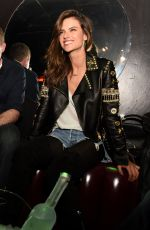 ALESSANDRA AMBROSIO at Official Viper Room Re-launch Party in West Hollywood 11/17/2015