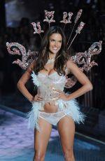 ALESSANDRA AMBROSIO at Victoria's Secret 2015 Fashion Show in New York 11/10/2015