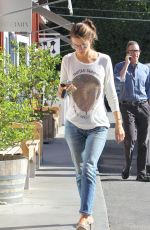 ALESSANDRA AMBROSIO Out and About in Brentwood 11/13/2015