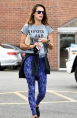 ALESSANDRA AMBROSIO Out and About in Los Angeles 11/02/2015