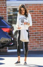ALESSANDRA AMBROSIO Out and About in Los Angeles 11/05/2015