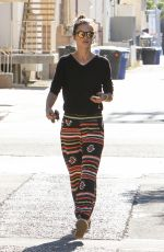 ALESSANDRA AMBROSIO Out and About in Los Angeles 11/07/2015