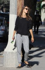 ALESSANDRA AMBROSIO Out and About in Los Angeles 11/19/2015