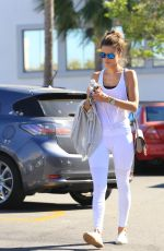 ALESSANDRA AMBROSIO Out for a Juice in Los Angeles 11/19/2015